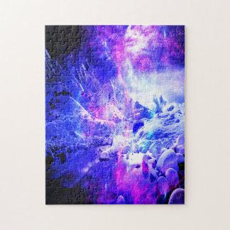 Sueños Amethyst de la noche de Yule Puzzle