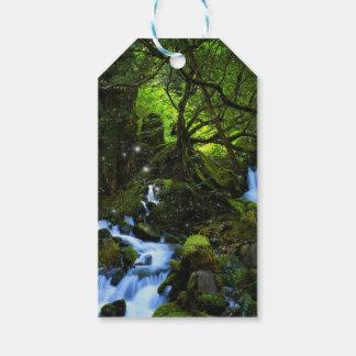 Sueños del bosque etiquetas para regalos