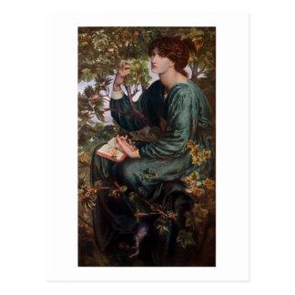 Sueños del día por Rossetti Postal