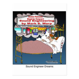 Sueños del ingeniero de sonido postal