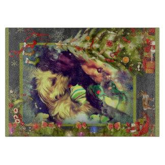 Sueños del navidad Toyland 11,5 x tabla de cortar