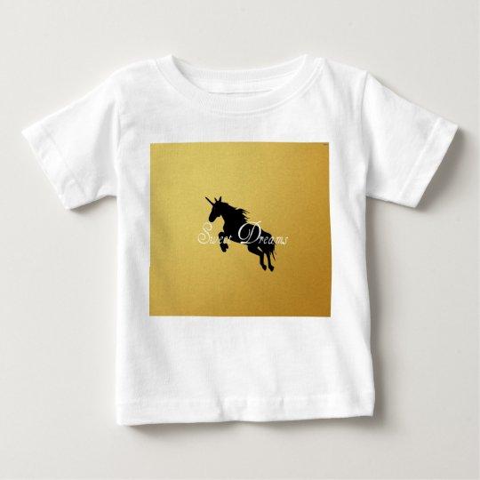 sueños dulces camiseta de bebé