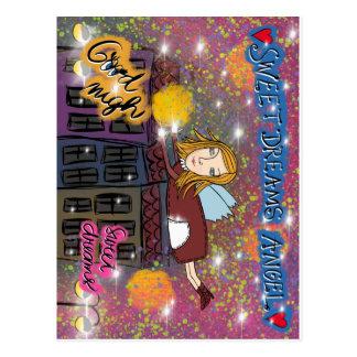 Sueños dulces postal
