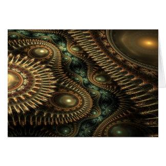 Sueños esmeralda tarjeta de felicitación