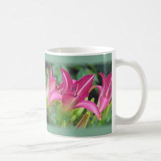 Sueños fucsias - Daylilies Taza De Café