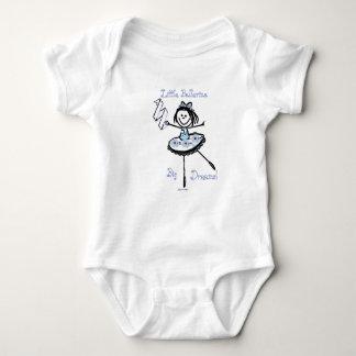 Sueños grandes de la pequeña bailarina body para bebé