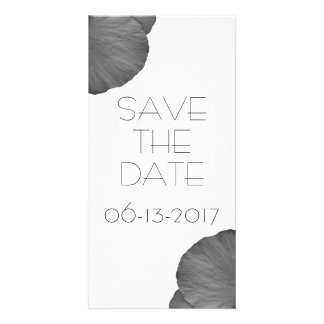 Sueños hawaianos en blanco y negro tarjetas fotograficas personalizadas