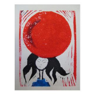 Sueños japoneses postal