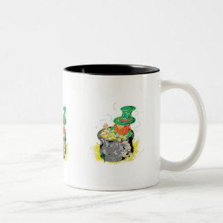 Suerte de la taza del irlandés