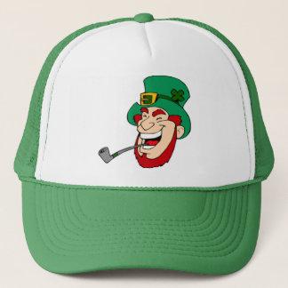 Suerte del gorra irlandés del camionero