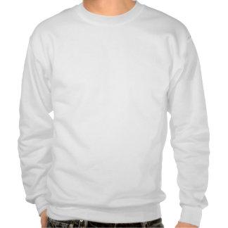 Suéter blanco de Crewneck de la radiografía compl Sudadera