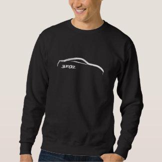 Suéter blanco del movimiento del cepillo 350z