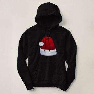Suéter con capucha del bebé de Santa