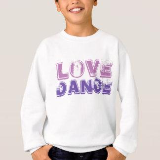 Suéter de la camiseta de los chicas de la danza