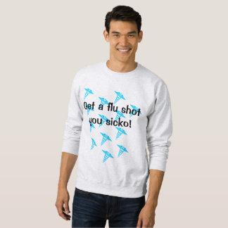 Suéter de la vacuna contra la gripe