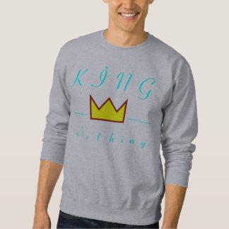 suéter del logotipo de la corona de la ropa del