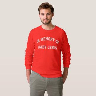 suéter del navidad de Jesús del bebé