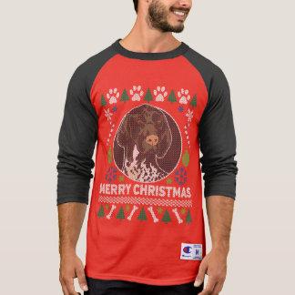 Suéter feo alemán del navidad del indicador de