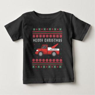 Suéter feo del navidad de la grúa
