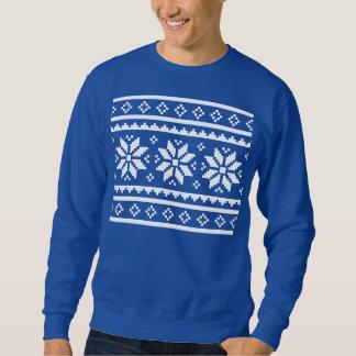 Suéter feo divertido del navidad para los hombres