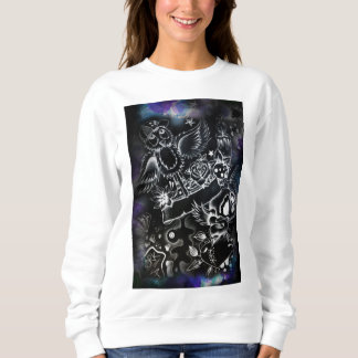 Suéter gráfico para mujer