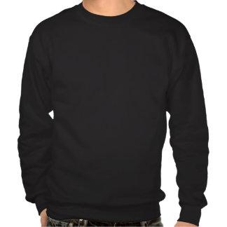 Suéter negro del RR Pulover Sudadera