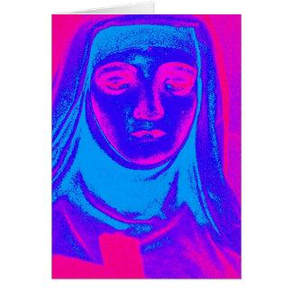 sufrimiento colorido tarjeta de felicitación