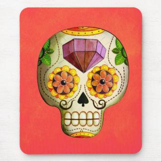 Sugar Skull de Los Muertos Tapetes De Ratones
