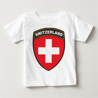 Suiza Camiseta De Bebé