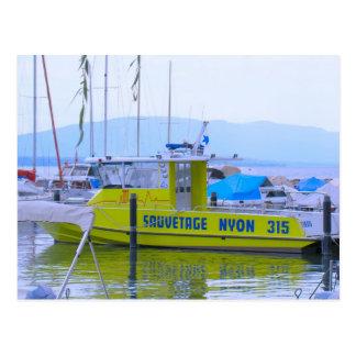 Suiza el lago Lemán Nyon puerto deportivo Postales