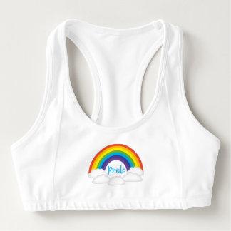 Sujetador Deportivo El orgullo del arco iris listo para el desfile se