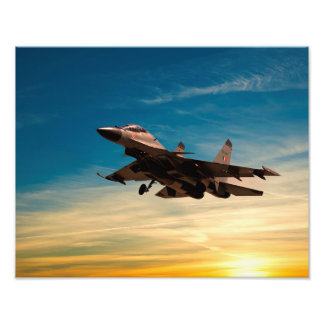 Sukhoi Su-30MKI Impresión Fotográfica