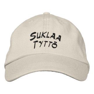 Suklaa Tyttö - chica del chocolate Gorra Bordada