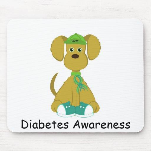 Sully el cojín de ratón del perro de la diabetes alfombrilla de ratón