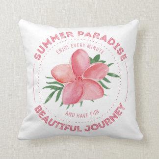 Summer Paradise Cojín Decorativo