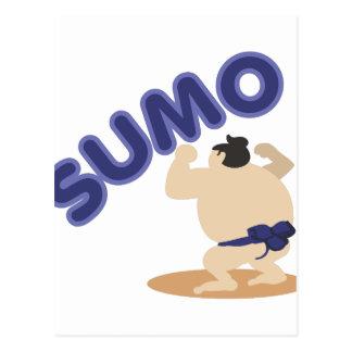Sumo del luchador del sumo postal