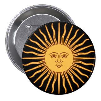 Sun Chapa Redonda De 7 Cm