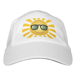 Sun feliz gorra de alto rendimiento