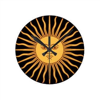 Sun Reloj Redondo Mediano