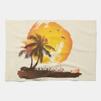 Sun tropical toalla