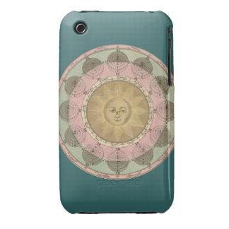 Sun y detalle de las estaciones de la antigüedad funda bareyly there para iPhone 3 de Case-Mate
