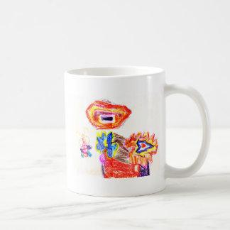 Sun y jGibney Flower1 la serie K del artista del Tazas De Café