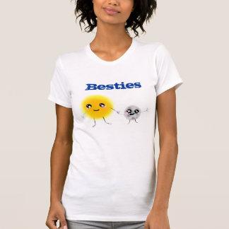 Sun y luna Besties Camiseta