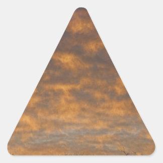 Sunrise_360.jpg Pegatina Triangular