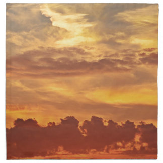 sunset-1643705 servilleta de tela