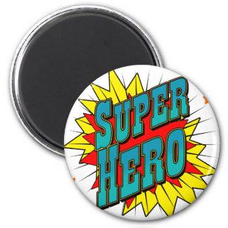 Super héroe imanes de nevera