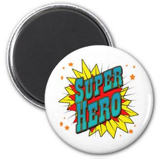 Super héroe imán de frigorífico