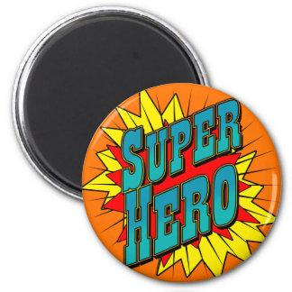 Super héroe iman de frigorífico