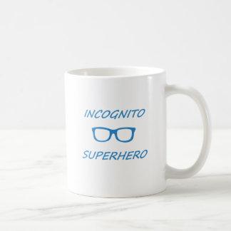 Super héroe incógnito 1BL Taza Clásica