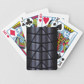 Super héroes - negro baraja de cartas